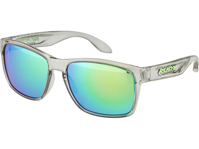 Rudy Project Spinhawk Bril, crystal ash - rp optics multilaser green